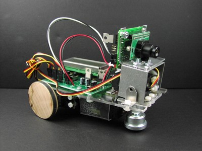 CMU camera bracket assembly attached to up-down servomotor