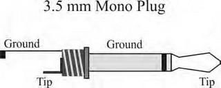 3.5mm Mono Plug Schematic