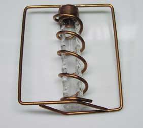 Assembled Wand Steampunk Geiger Counter