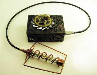 Steampunk Geiger Counter