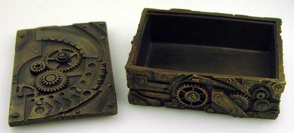 Steampunk Geiger Counter Enclosure