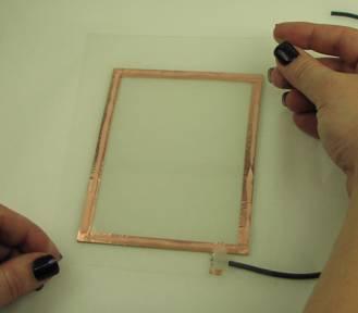 Figure 9 - Center Acetate over electrode