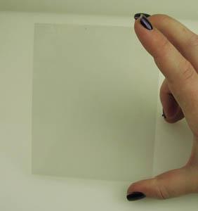 Figure 3 - Conductive Glass