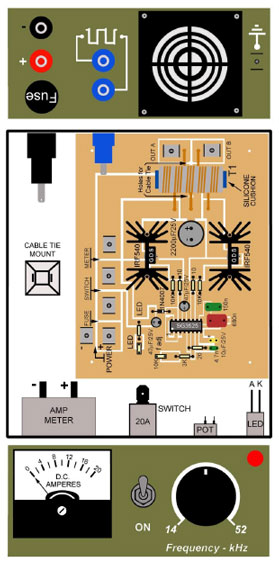 Plasma Driver Hardware Layout