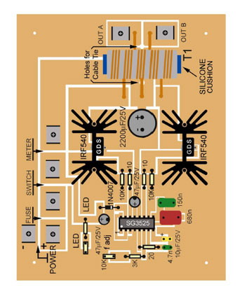 Plasma Circuit Board Parts Layout
