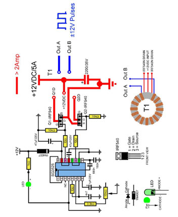Plasma Driver Schematic Diagram