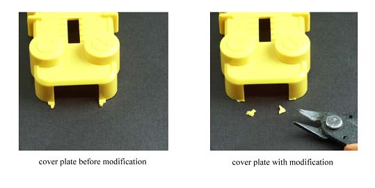 Cover Plate Modification