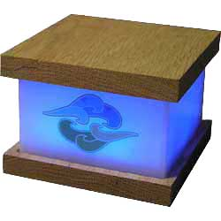 Meditation Breath Lamp - Breathe in (blue)