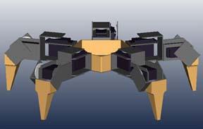 five leg spider robot