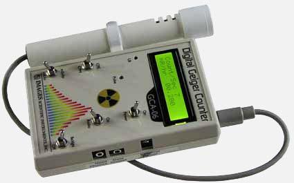 Geiger Counter GCA-06W