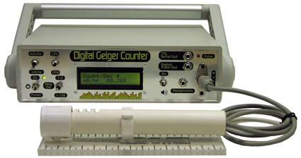 Desktop Digital Geiger Counter