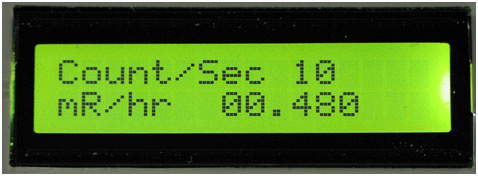 GCA-07 Digital Meter Close-up