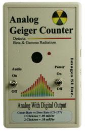 Geiger Counter  - Images analog model