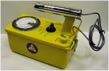 Civil Defense Geiger Counter CDV-700