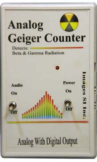 GCA-01 Analog Geiger Counter