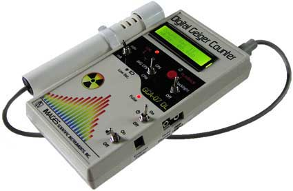 GCA-07 Digital Geiger Counter