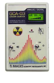 GCA-03 Analog/ Digital Meter Geiger Counter