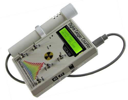 GCA-06 Digital Geiger Counter