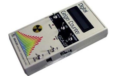 GCA-07 Digital Geiger Counter