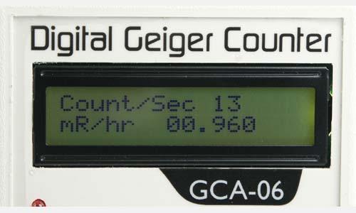 Geiger Counter Digitial  LCD Screen