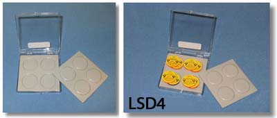 Lead Disc Source Container - 8 disc capacity