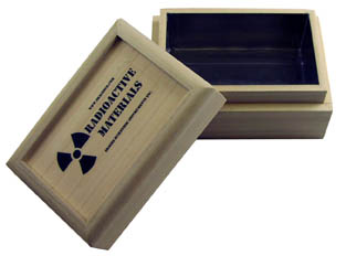 Radioactive Containment - Lead Lined Box