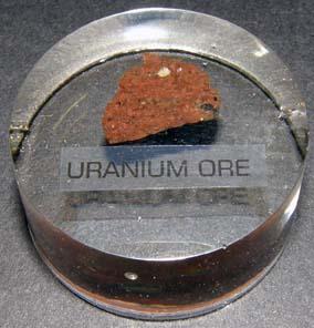 Uranium Ore Paperweight