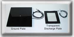 Transparent Discharge Plate
