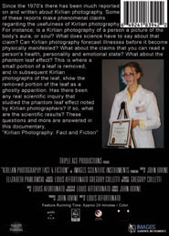 Kirlian Photography: Fact and Fiction Back Cover