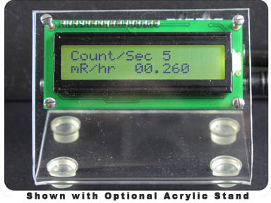 Digital Meter Adapter for Analog Geiger Counters