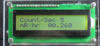 LCD Screen Closeup