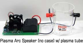 plasma arc speaker kit without a case