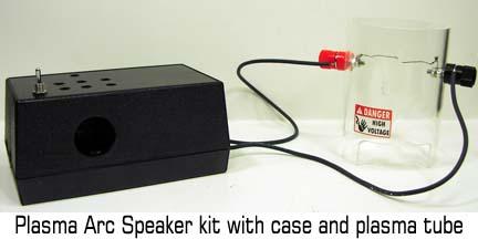 Plasma Arc Speaker with case