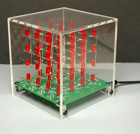 3D Led Cube - опубликовано в Световые эффекты и LED: всем доброго времени суток!!!!кто-нибудь пробовал создавать...