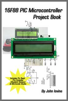 16F88 PIC Microcontroller Project Book