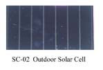 Outdoor Solar cell