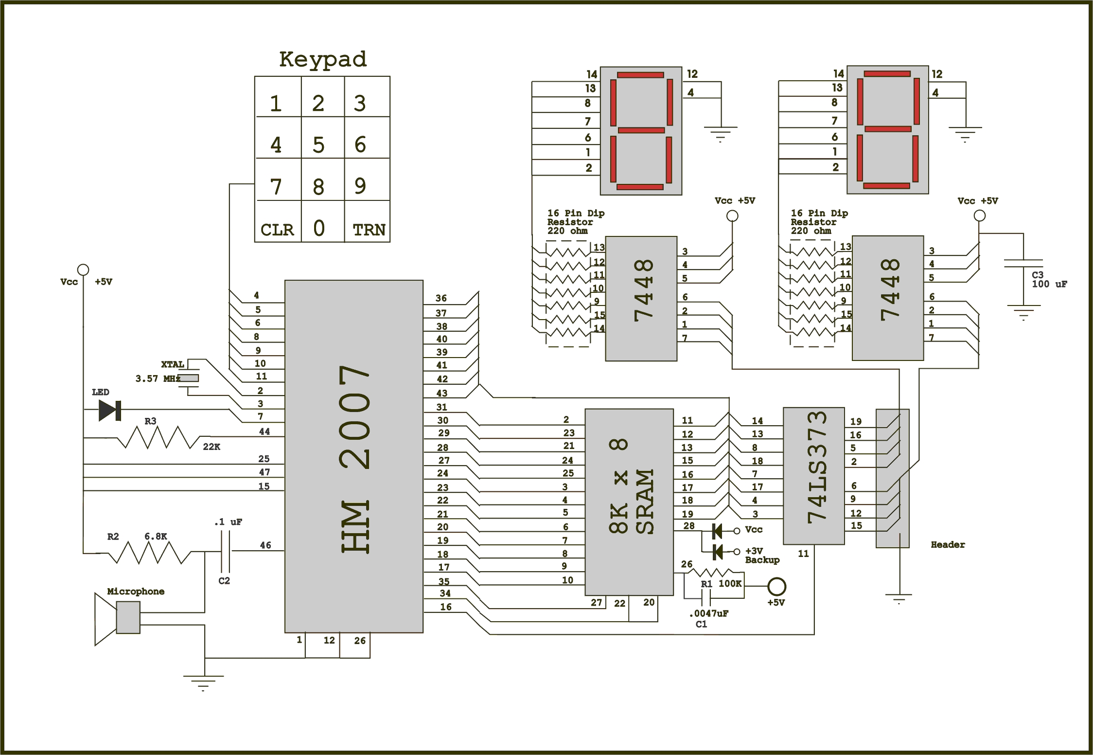 Voice Recognition Application Circuit Diagram - Wiring Diagram DB