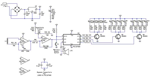 ufo detector schematic